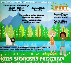 Kids Summer Program 2014
